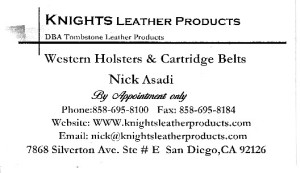 Knights Leather